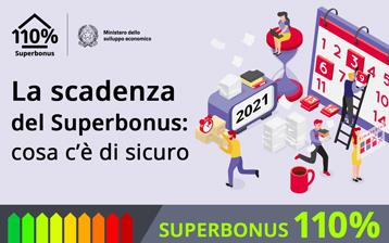 La scadenza del Superbonus: cosa c'è di sicuro